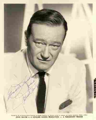 111: WAYNE JOHN: (1907-1979) American Actor, Academy Aw