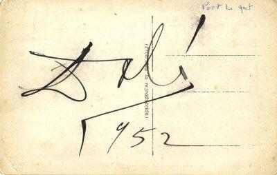 617: DALI SALVADOR: (1904-1989) Spanish Surrealist Pain