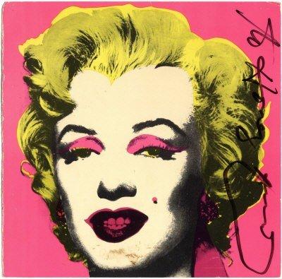 618: WARHOL ANDY: (1928-1987) American Pop Artist. A go