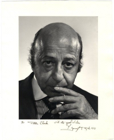 623: KARSH YOUSUF: (1908-2002) Canadian Photographer. S