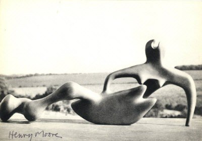 628: MOORE HENRY: (1898-1986) English Sculptor and Arti