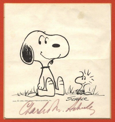 630: ARTISTS & CARTOONISTS: Selection of signed cards,
