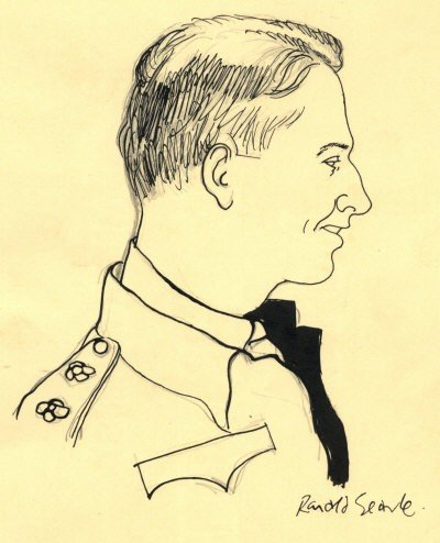 634: SEARLE RONALD: (1920-2011) British Artist & Cartoo