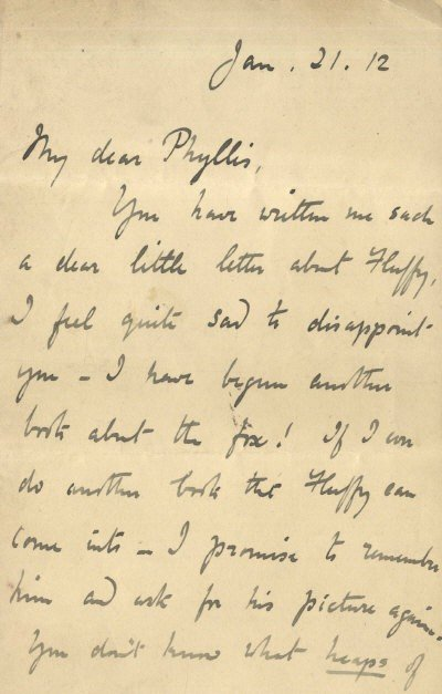 644: POTTER BEATRIX: (1866-1943) English Author of Chil