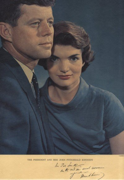 859: KENNEDY JOHN F.: (1917-1963) American President 19