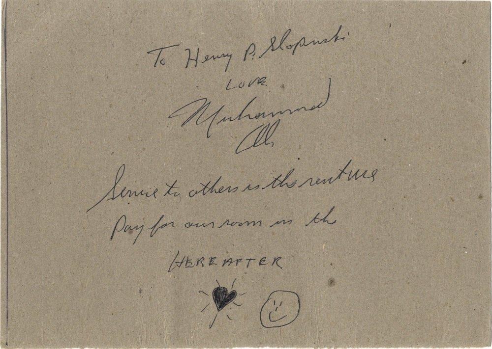 15: ALI MUHAMMAD: (1942-     ) American Boxer, World He