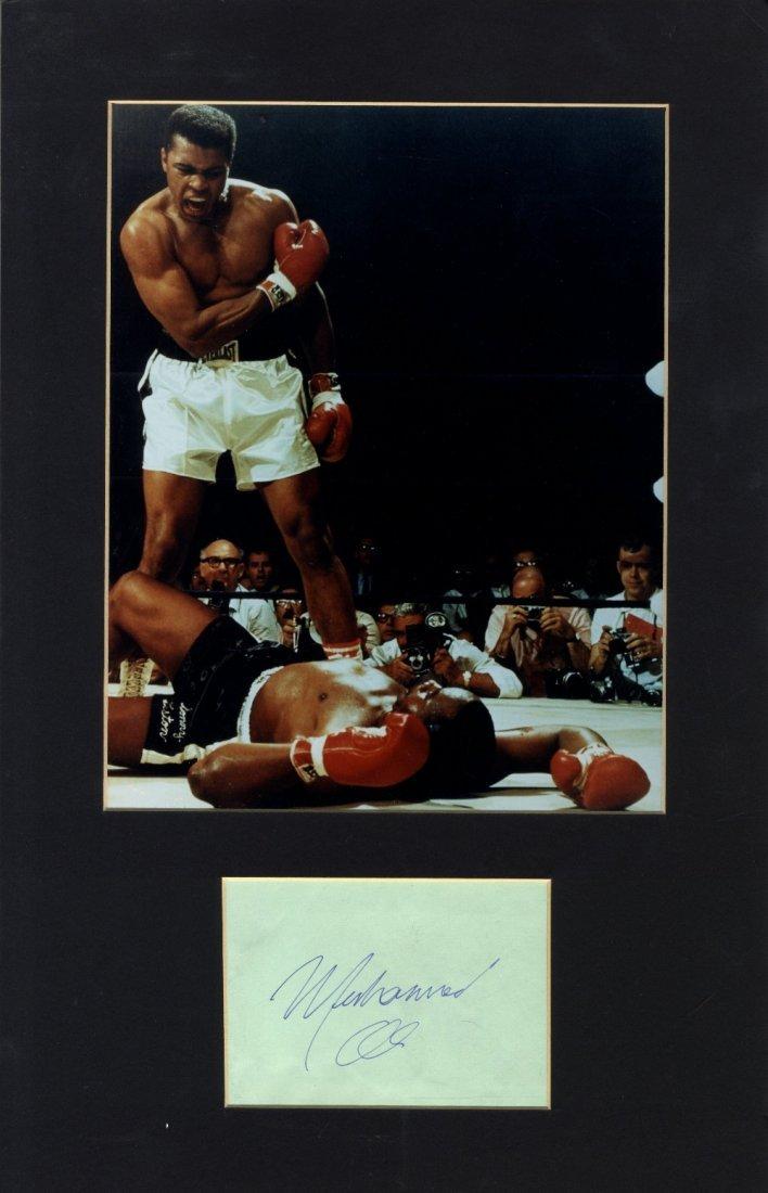 16: ALI MUHAMMAD: (1942-     ) American Boxer, World He