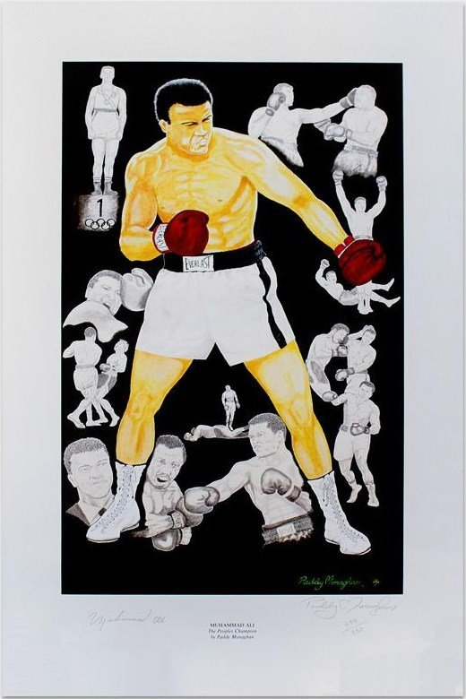 17: ALI MUHAMMAD: (1942- ) American Boxer, World Heavyw