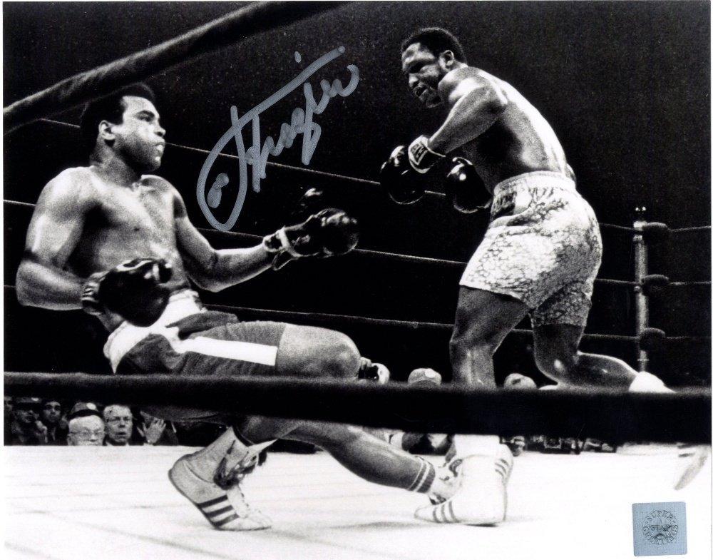 19: FRAZIER JOE: (1944-2011) American Boxer, World Heav