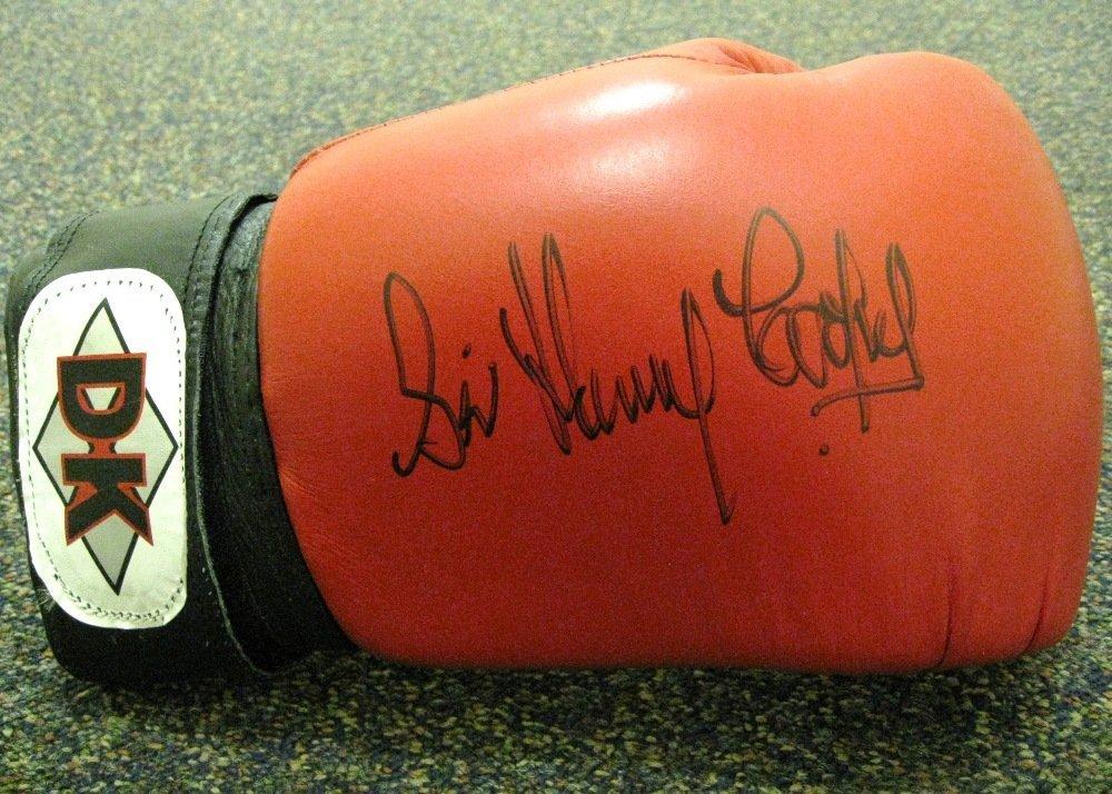 23: COOPER HENRY: (1934-2011) British Heavyweight Boxer