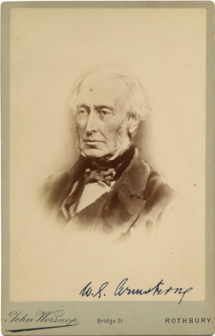 632 ARMSTRONG WILLIAM: (1810-1900) English Industrialis