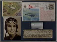 825 AVIATION: Jean Batten (1909-1982) New Zealand Aviat