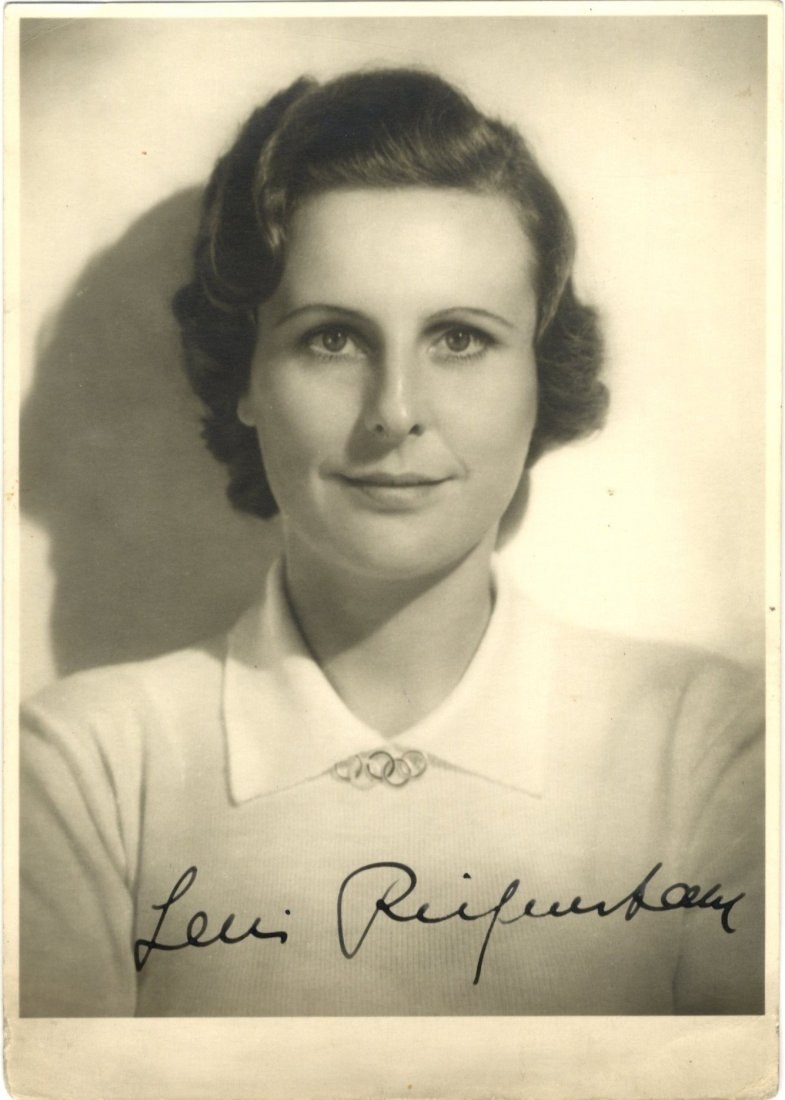 9: RIEFENSTAHL LENI: (1902-2003) German Film Director.