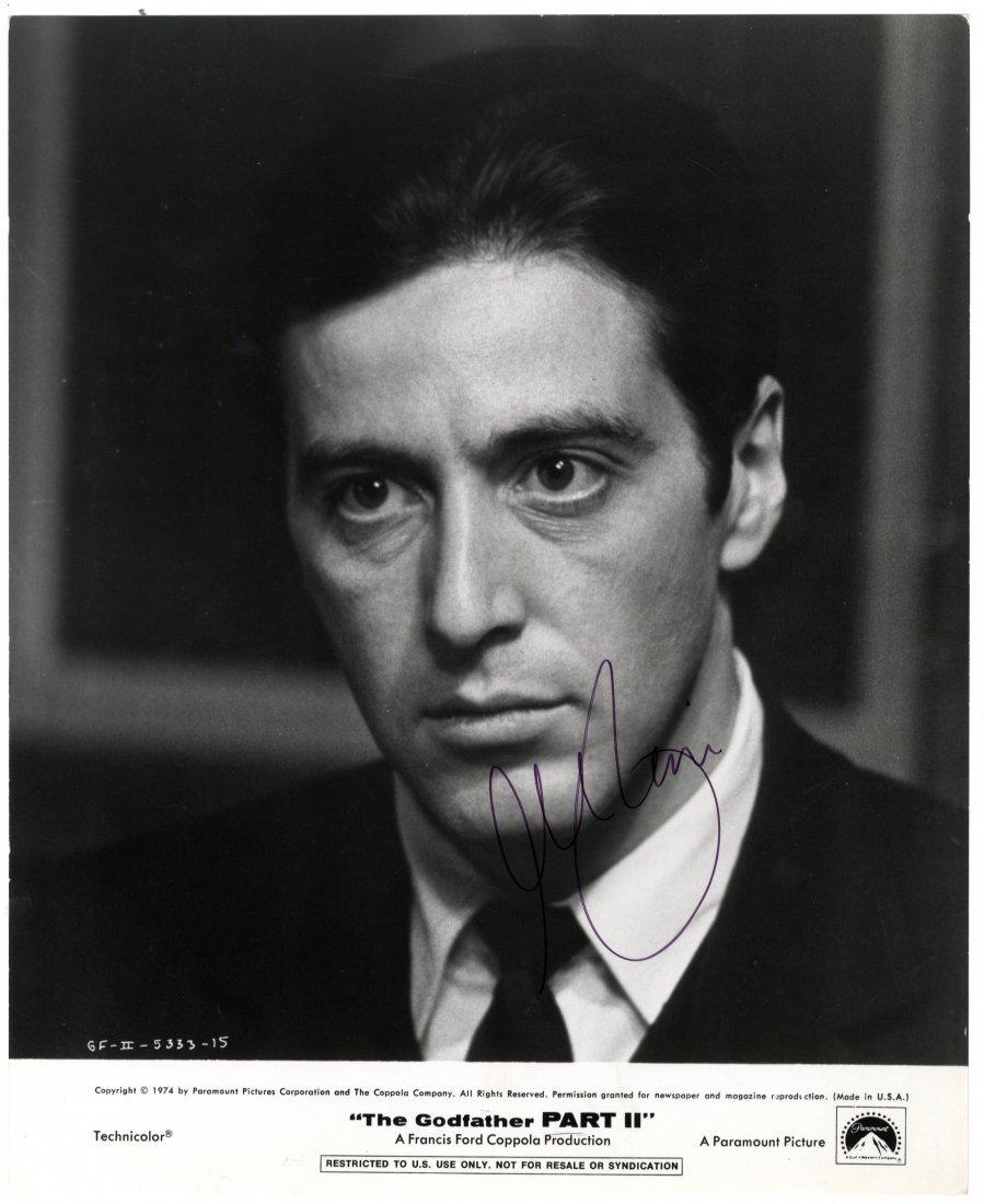 20: PACINO AL: (1940-     ) American Actor. Signed 8 x