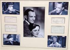 68: BRIEF ENCOUNTER: Individual signed album pages and