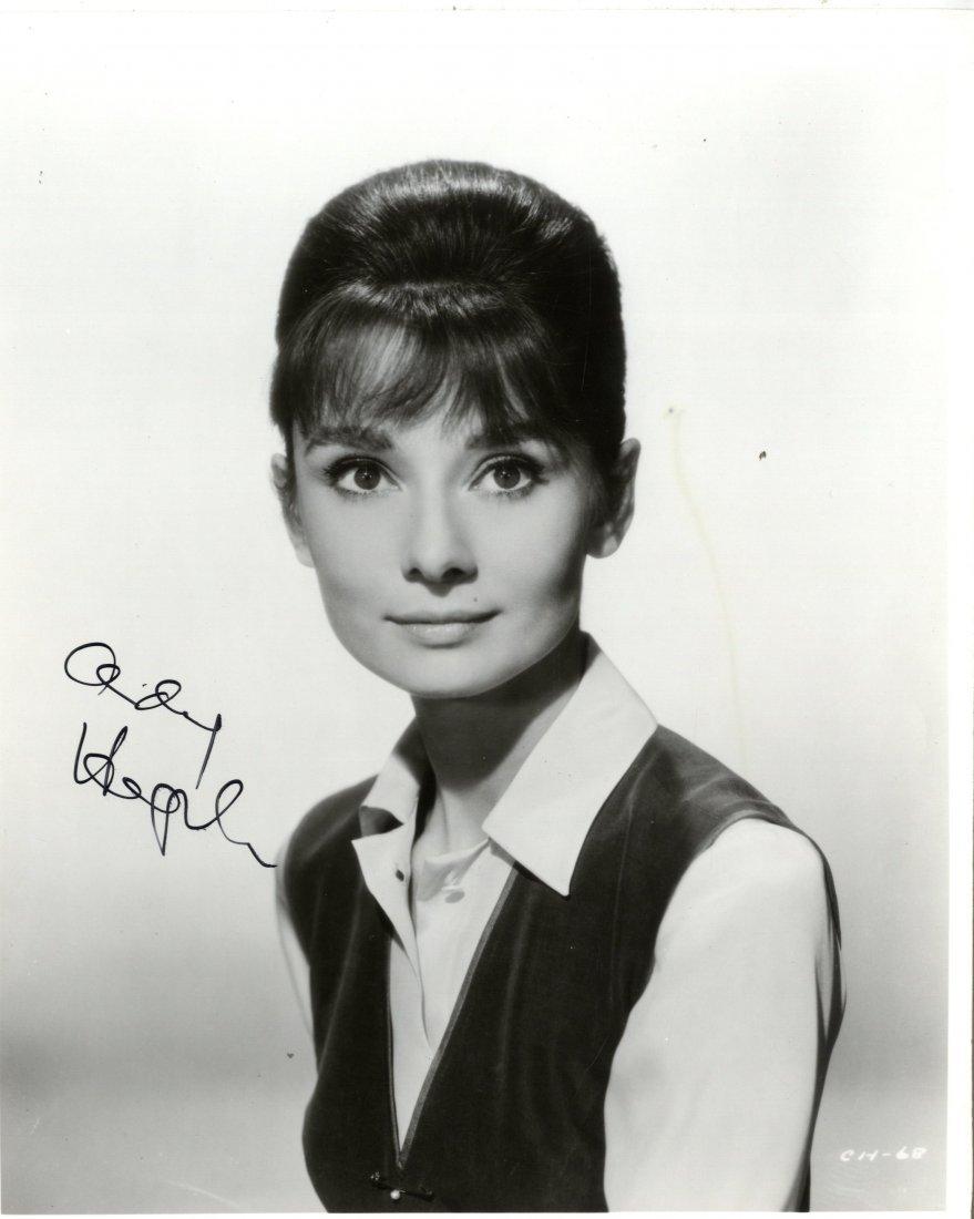 434: HEPBURN AUDREY: (1929-1993) Belgian-born Actress,
