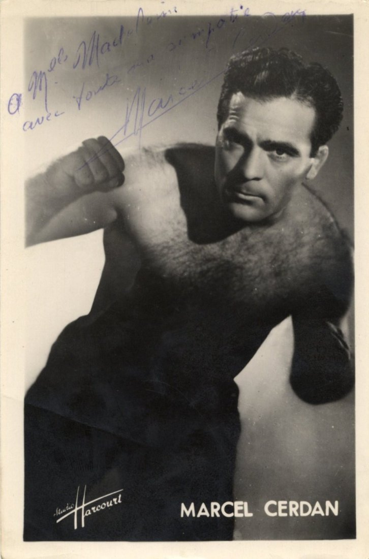 16: CERDAN MARCEL: (1916-1949) French Boxer, World Midd