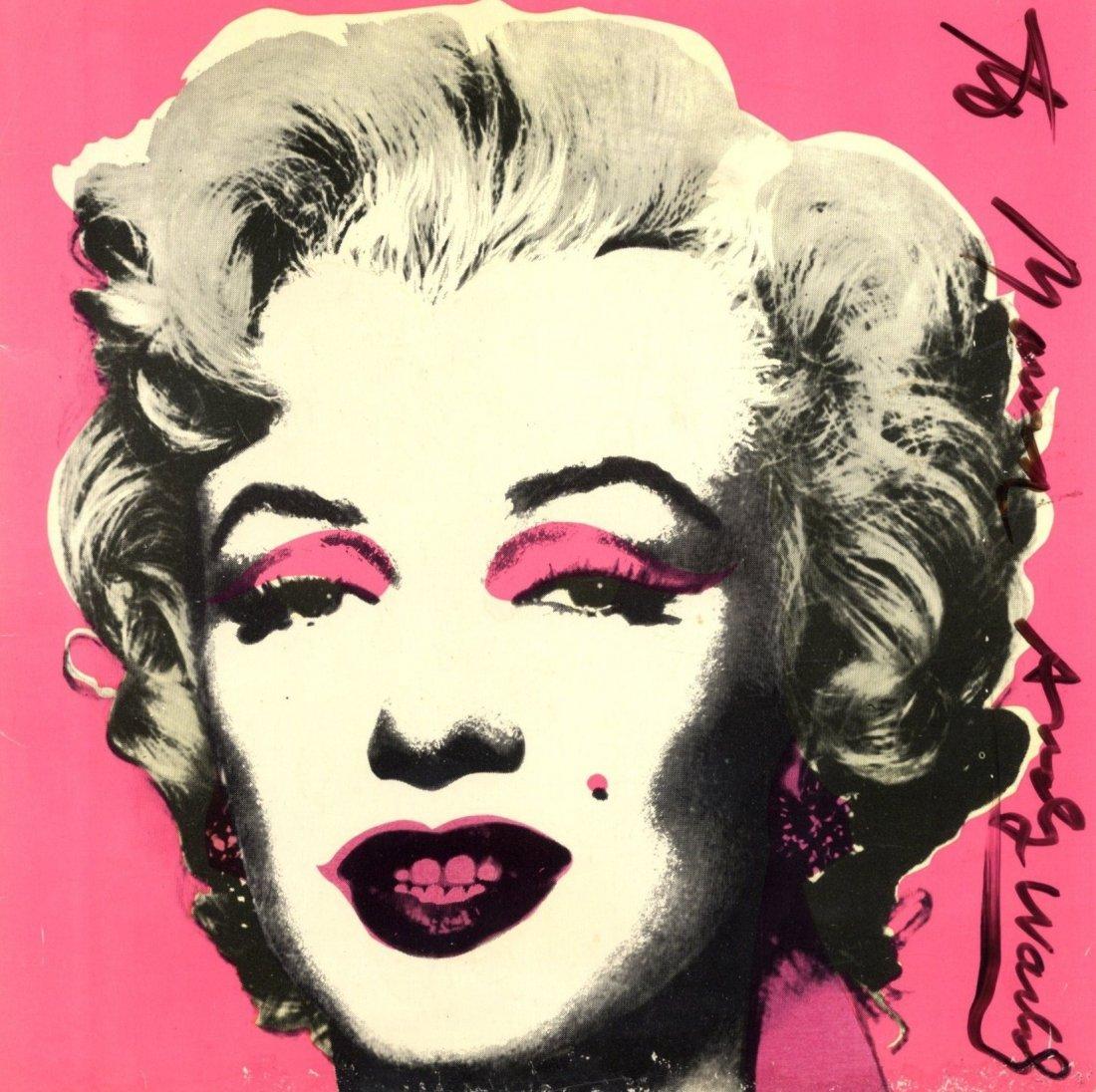 273: WARHOL ANDY: (1928-1987) American Pop Artist. A go