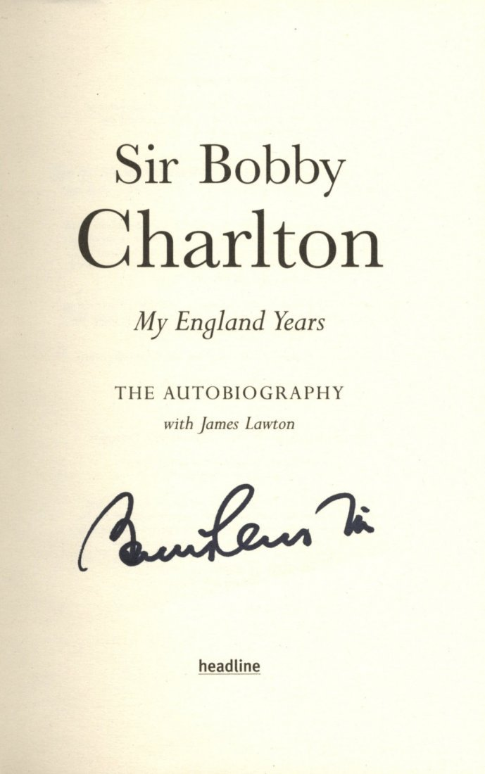 ENGLAND FOOTBALL: Selection of signed hardback and pape