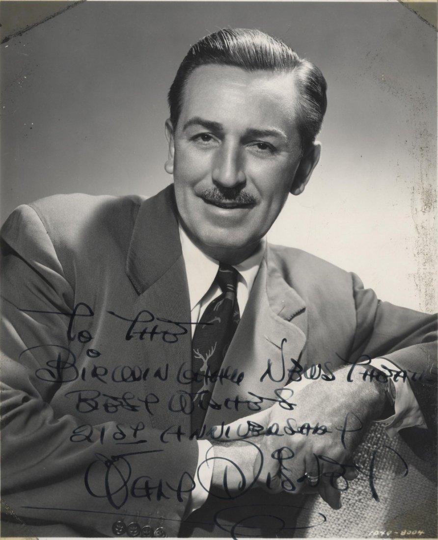 DISNEY WALT: (1901-1966) American Animator, Academy Awa