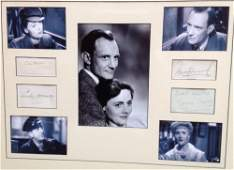 BRIEF ENCOUNTER: Individual signed album pages and piec