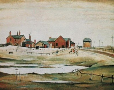 LOWRY L. S.: (1887-1976) English Artist. A signed 20.5