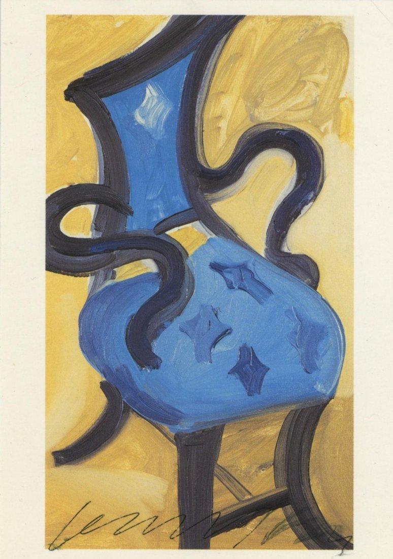 HOCKNEY DAVID: (1937 -         ) British Artist. Signed