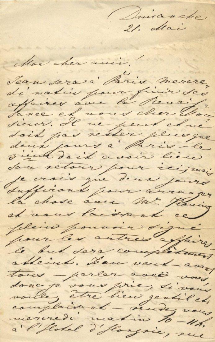[STRAUSS II JOHANN]: (1825-1899) Austrian Composer. TRE