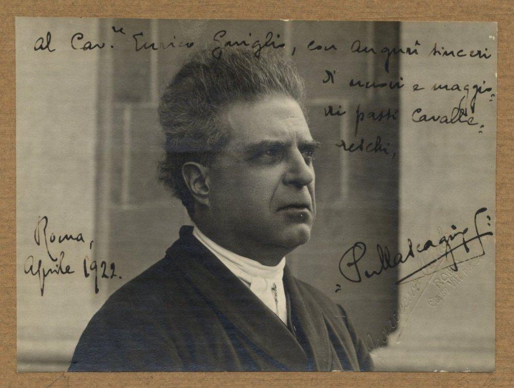 MASCAGNI PIETRO: (1863-1945) Italian Composer. Vintage