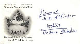 EDWARD & WALLIS: EDWARD, DUKE OF WINDSOR (1894-1972) Ki