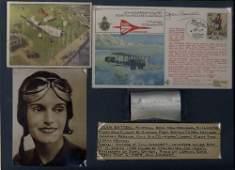 BATTEN JEAN: (1909-1982) New Zealand Aviatrix, known fo