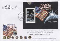 ASTRONAUTS Selection of signed First Day Covers by var
