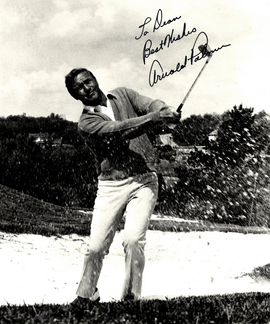 GOLF: Selection of signed postcard photographs and slig