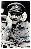 DADS ARMY Small selection of signed postcard photogra
