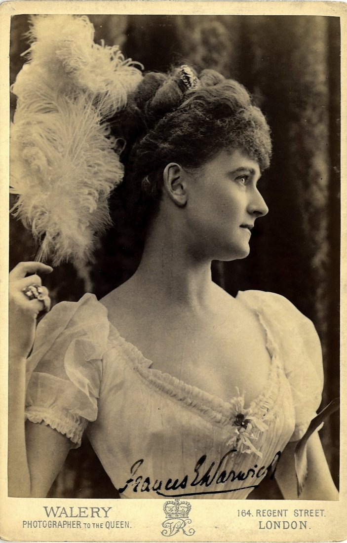 GREVILLE FRANCES EVELYN 'DAISY' (1861-1938) Countess of