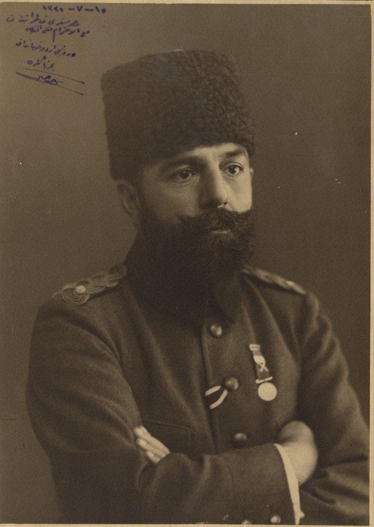 PASHA AHMED DJEMAL: (1872-1922) Turkish Naval Minister,