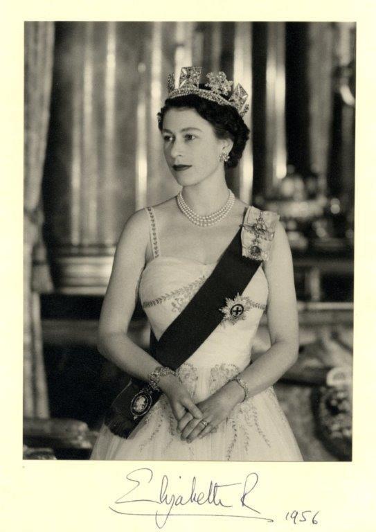 Elizabeth Ii 1926 Queen Of The United Kingdom 1952