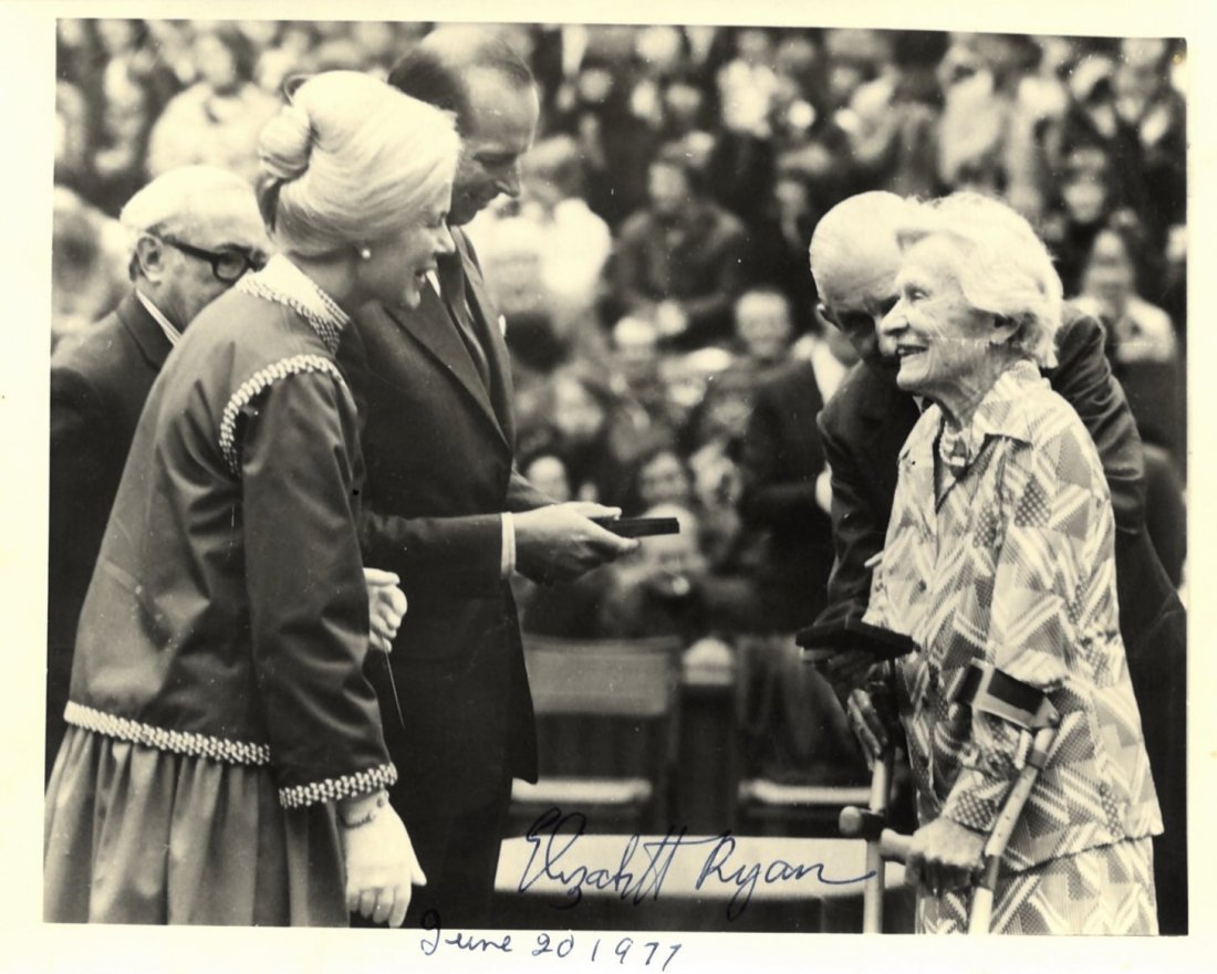 TENNIS: Elizabeth Ryan (1892-1979) American Tennis Play