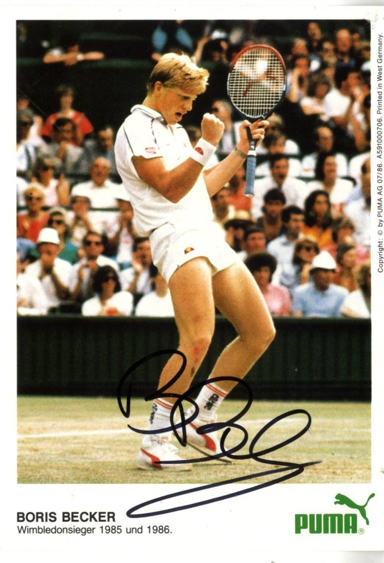 TENNIS: Selection of signed pieces, album pages, cards,