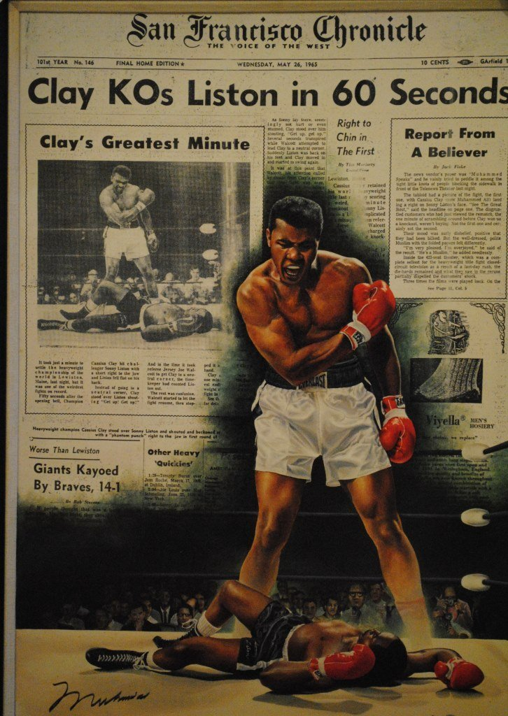 ALI MUHAMMAD: (1942- ) American Boxer, World Heavyweigh