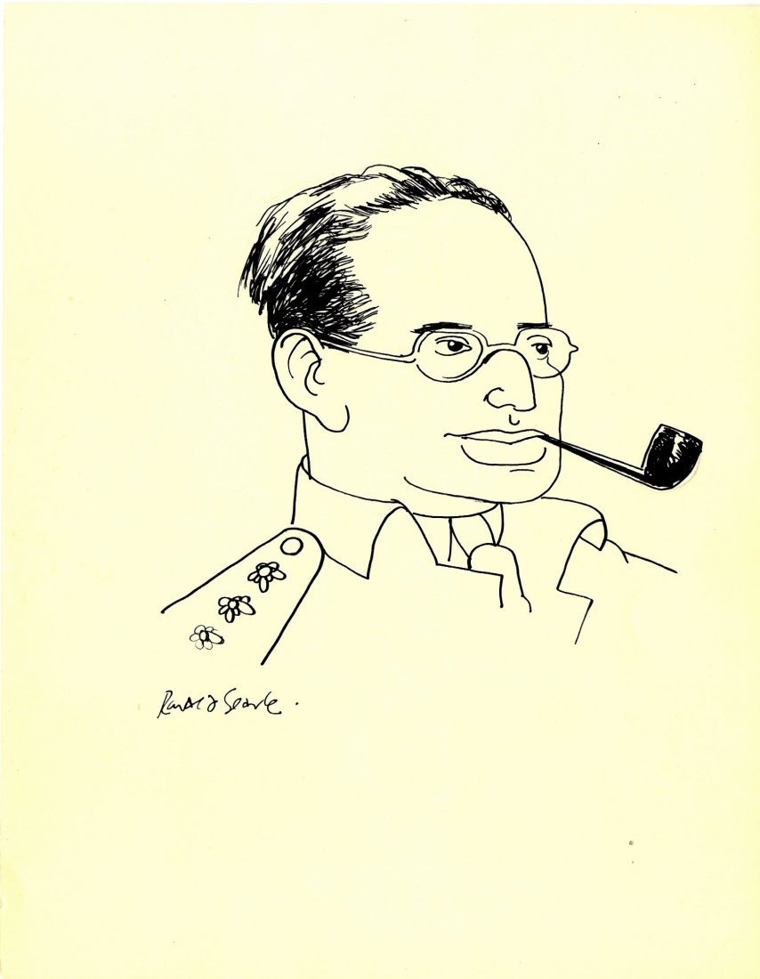 SEARLE RONALD: (1920-2011) British Artist and Satirical