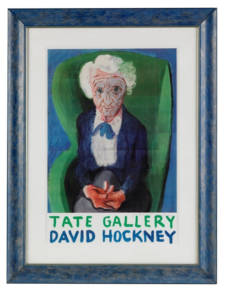 HOCKNEY DAVID: (1937-    ) British Artist. Signed