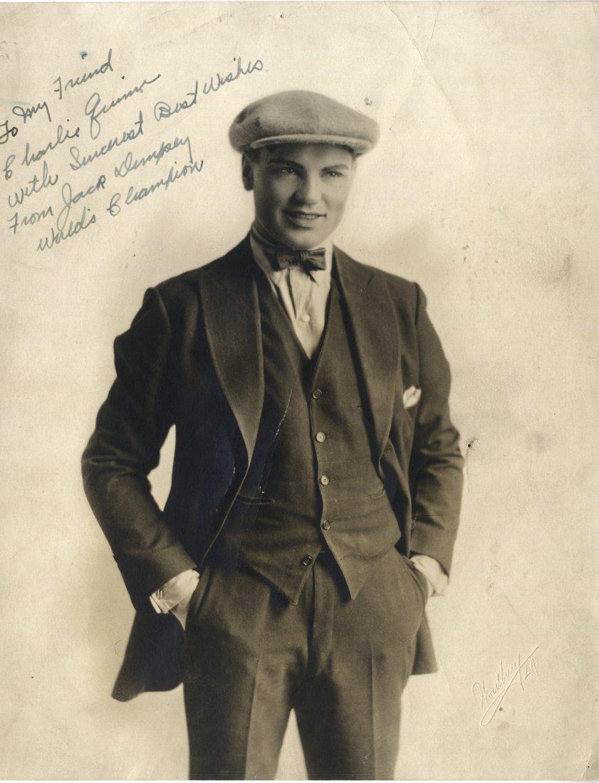 DEMPSEY JACK: (1895-1983) American Boxer, World