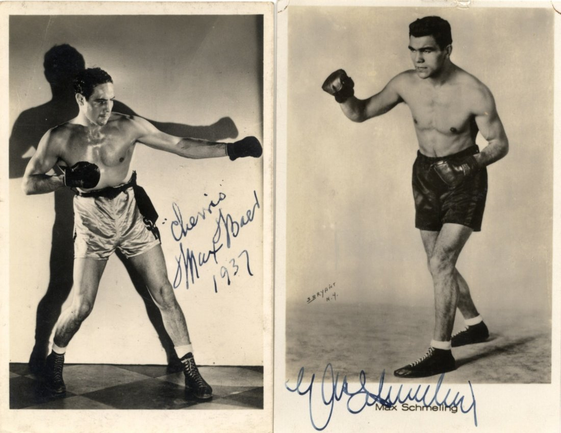 BOXING: Max Baer (1909-1959) American Boxer, World