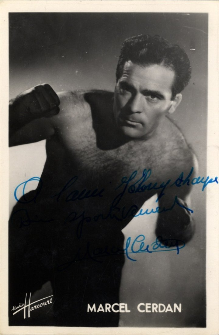 CERDAN MARCEL: (1916-1949) French Boxer, World