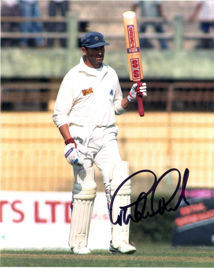 CRICKET: Selection of signed 8 x 10 photographs and a