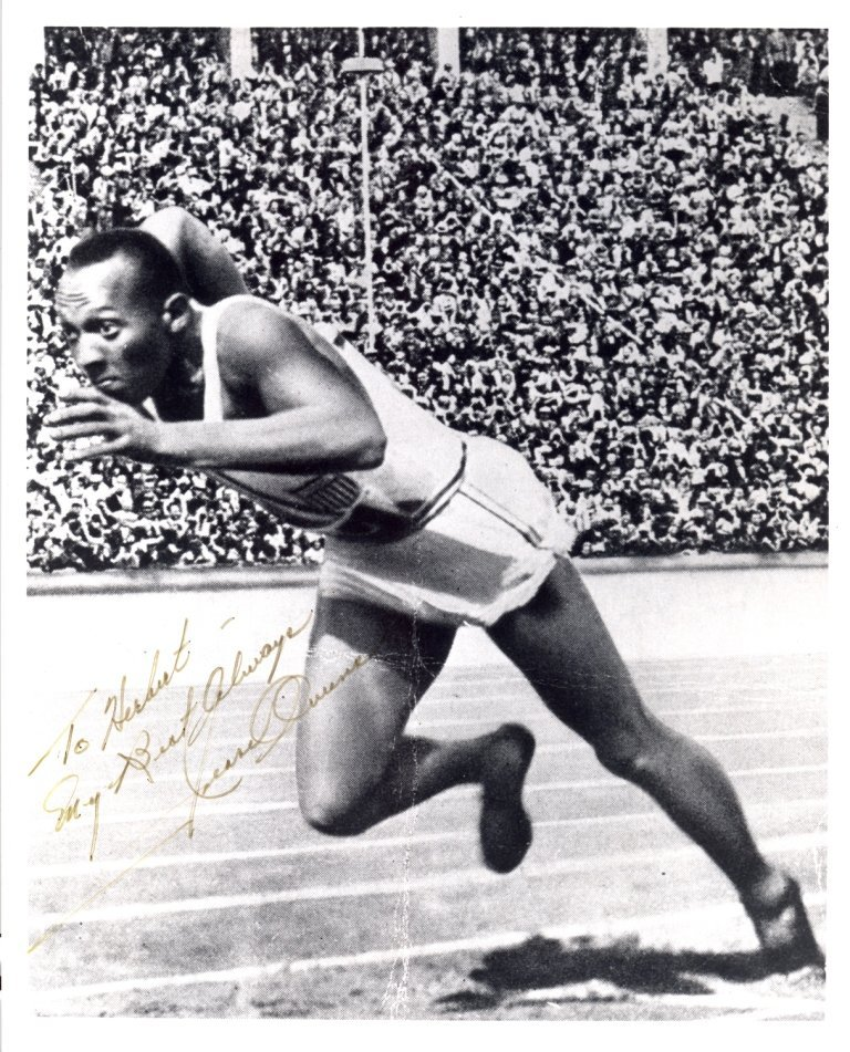OWENS JESSE: (1913-1980) American Athlete, famous for