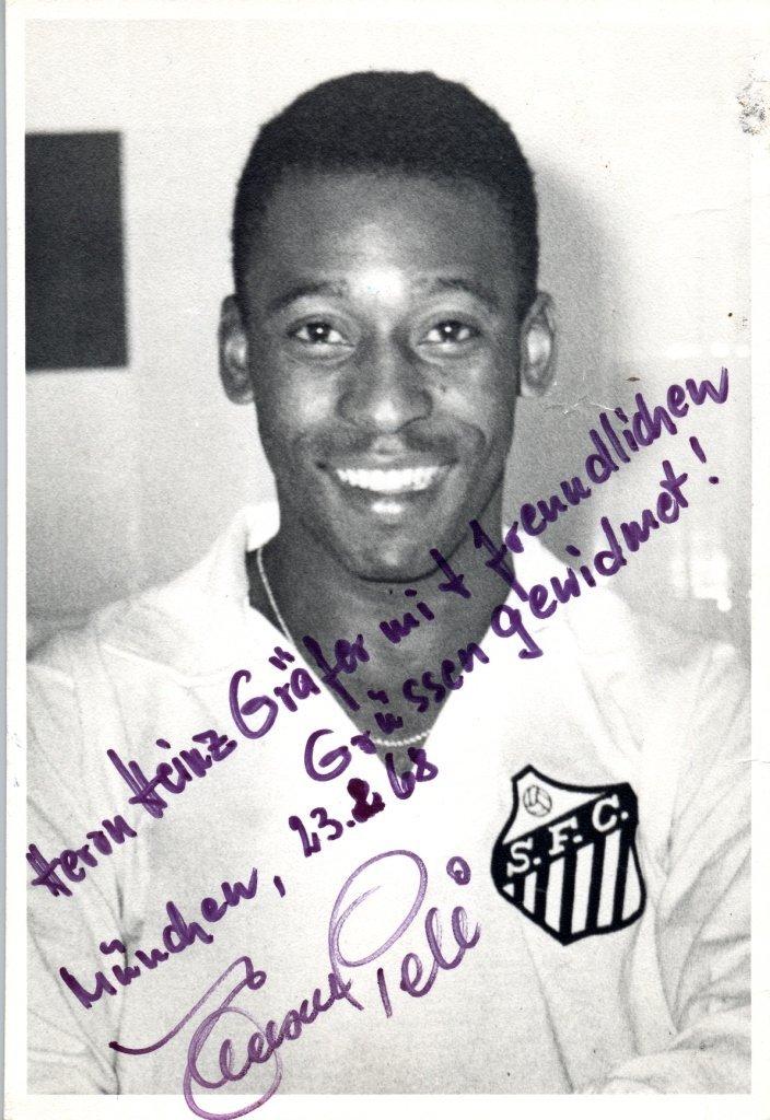 PELE: (1940- ) Brazilian Footballer. A good vintage