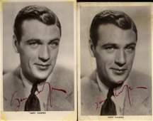 COOPER GARY: (1901-1961) American Actor, Academy Award