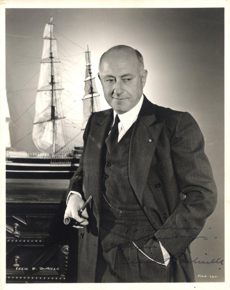 DeMILLE CECIL B.: (1881-1959) American Film Director &